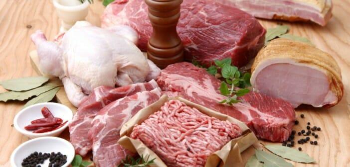 Les varietes de viandes plus ou moins caloriques