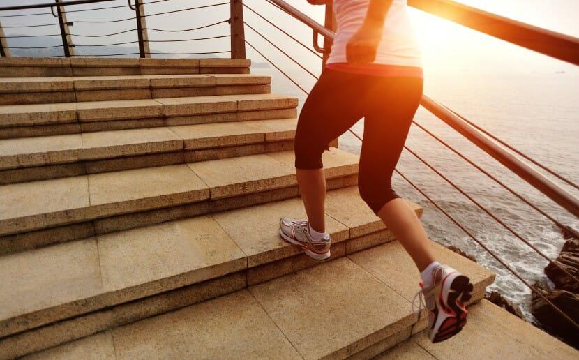 Montez les escaliers deux par deux
