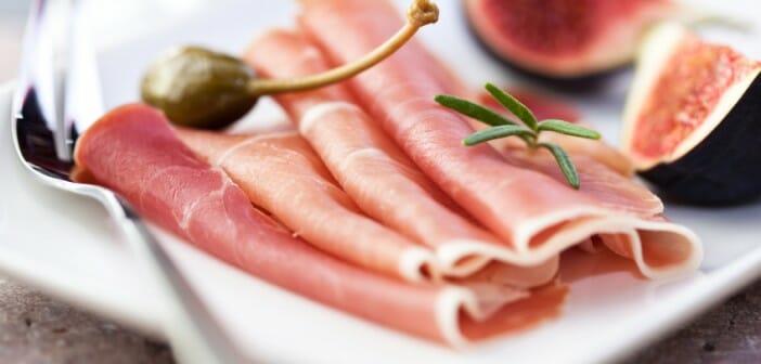Le jambon pendant un régime