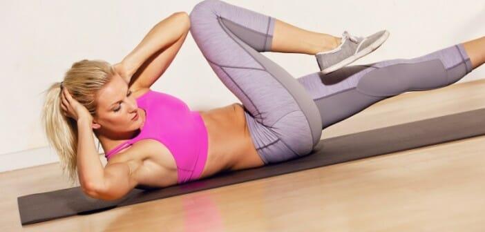 6 exercices pour perdre du ventre