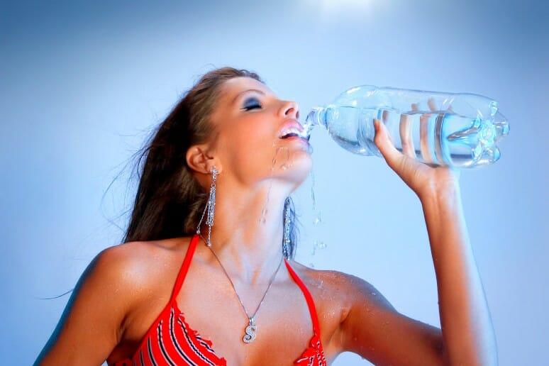 Attention à la déshydratation pendant un régime