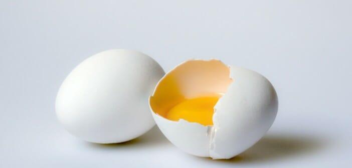 Le blanc d'oeuf pour ne pas grossir