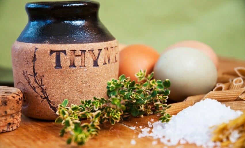 Le thym pendant un régime minceur