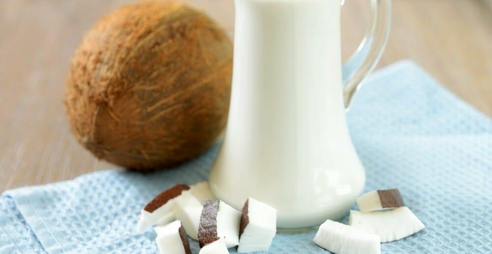 Le lait de coco est-il calorique ?