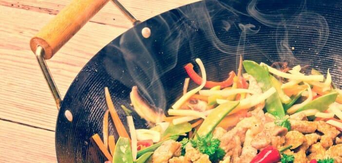 La cuisine au wok est-elle saine ?