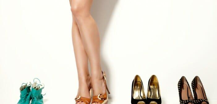 Quelle chaussure porter quand on est ronde ?