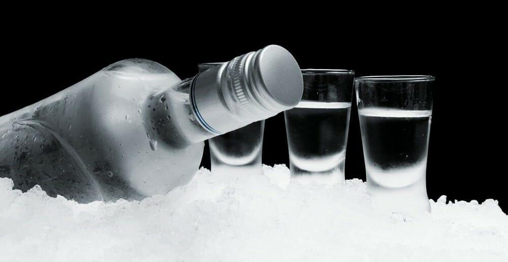 La vodka est-elle calorique ?