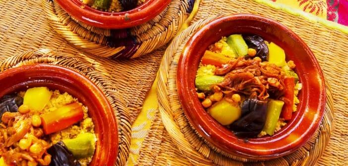 Manger sain dans un restaurant marocain