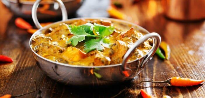 Manger light au restaurant indien