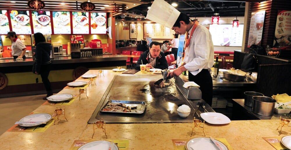 Manger léger au restaurant chinois