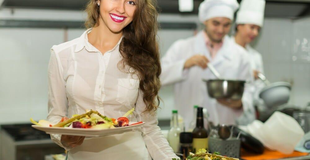 Manger végétarien au restaurant