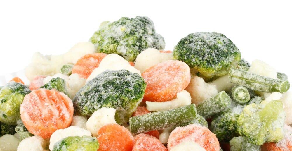 Les légumes surgelés font ils maigrir
