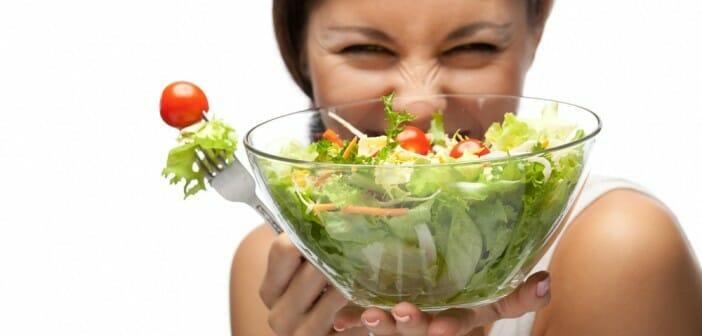 La salade verte pour maigrir