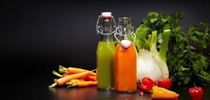 Perdre du poids jus de legumes