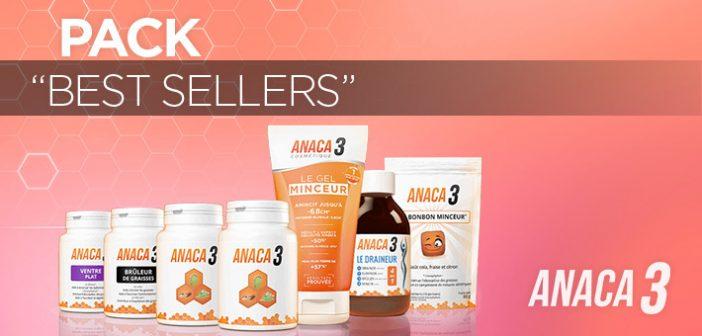 Pack best sellers Anaca3