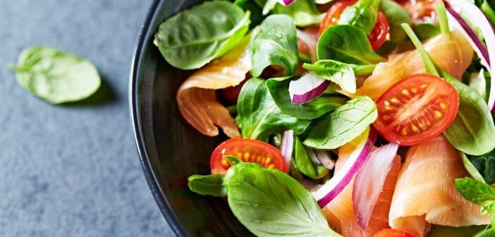 Recette de salade minceur sans féculent