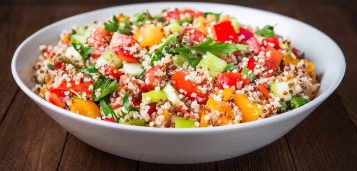 Recette : salade de quinoa minceur - Le blog Anaca3.com