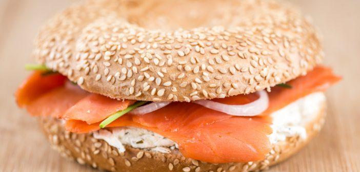 Sandwich minceur au saumon