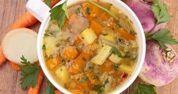 Consommer de la soupe de navet pendant son régime, la bonne idée minceur