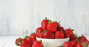 La fraise, autorisée pendant le régime Dukan