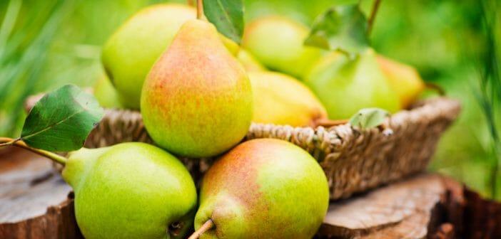 La poire, un bon allié pendant un régime
