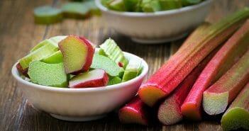 La rhubarbe, l'amie des ventres plats