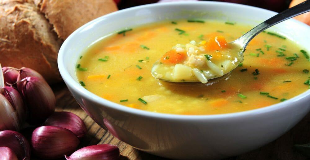 La soupe de légumes pour un effet coupe faim