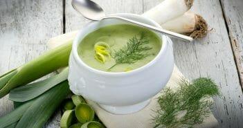 Le bon conseil : la soupe de poireaux pendant un régime