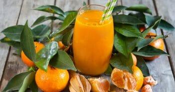 Le jus de mandarine pour maigrir