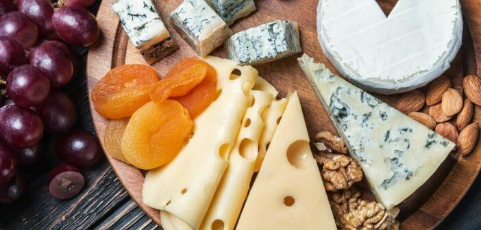 Liste des fromages les moins gras