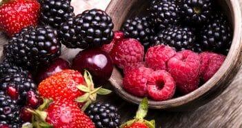 Perdre des cuisses avec les fruits rouges