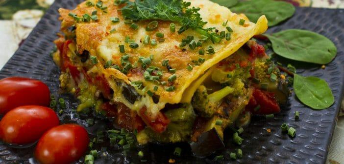 Recette : Lasagne de chou vert light