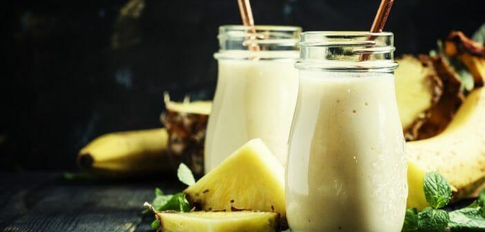 recette smoothie d tox l ananas le blog. Black Bedroom Furniture Sets. Home Design Ideas