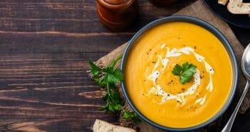 Recette : soupe de curcuma minceur