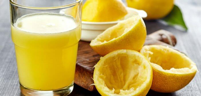 maigrir boire citron