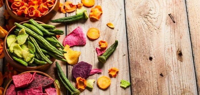Des chips de légumes pour diminuer les calories