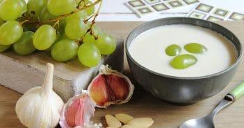 L'ajo blanco, une soupe zéro calorie