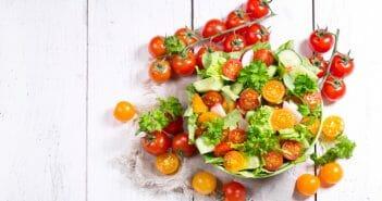 La salade de tomate est-elle idéale pendant un régime
