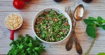 Le taboulé libanais et ses calories