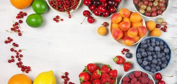 Quels sont les fruits d'été les moins caloriques