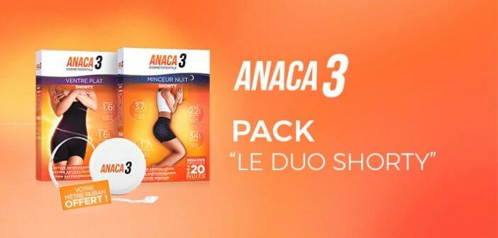 anaca3 pack duo shorty