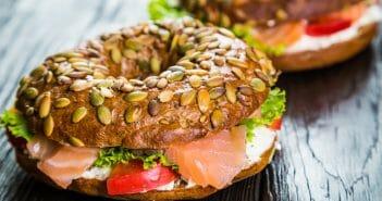 Bagel au saumon et régime : compatibles