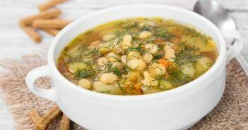 Combien de calories dans la soupe de haricot blanc