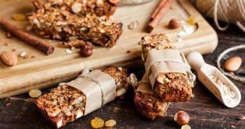 Combien y a-t-il de calories dans les barres granola