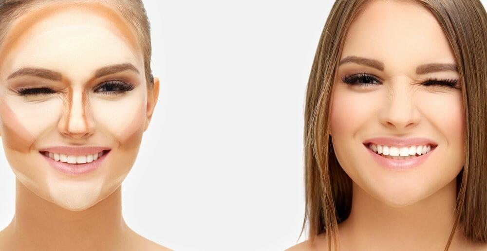 Comment cacher un double menton avec du maquillage ?