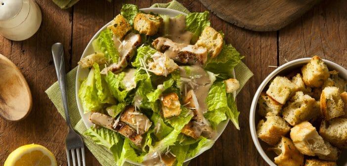 La salade fait-elle grossir le ventre