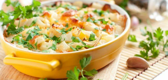 Le gratin de panais : un plat diététique