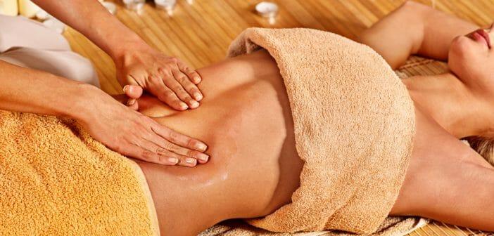 perdre du poids grâce au massage