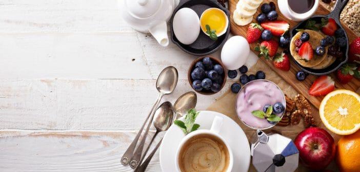 Menu pour un petit-déjeuner brûle graisse