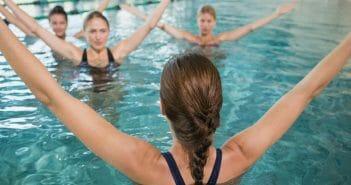 Nouvelle tendance fitness : l'aquapole